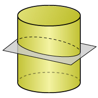 Cylinder - Cross Section 3 - Color