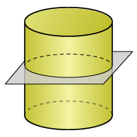 Cylinder - Cross Section 1 - Color