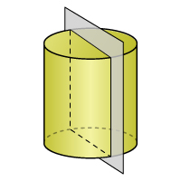 Cylinder - Cross Section 2 - Color