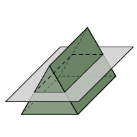 Triangular Prism - Cross Section 1 - Color