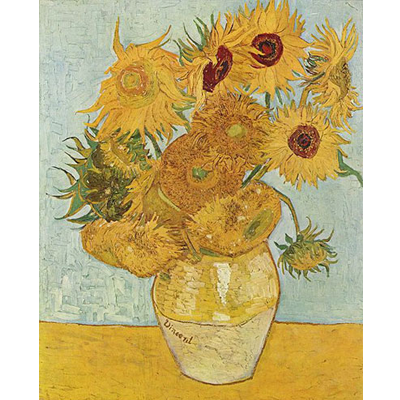 Painting - Sunflowers - Vincent Van Gogh
