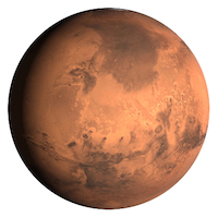 Planet Mars - Small
