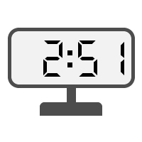 Digital Clock 02:51