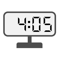 Digital Clock 04:05