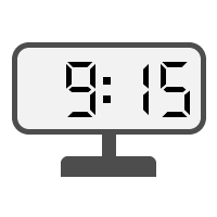 Digital Clock 09:15