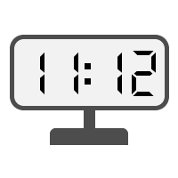 Digital Clock 11:12