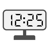 Digital Clock 12:25