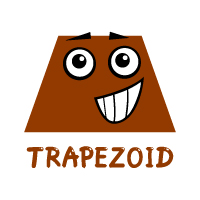 Basic Shapes - Trapezoid - With Label