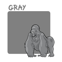 Colors - Gray - With Label
