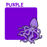 Colors - Purple - With Label