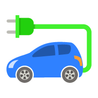 Earth Day - Electric Car