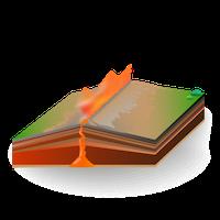 Volcano - Fissure Vent - Small