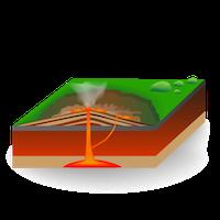 Volcano - Shield Volcano - Small