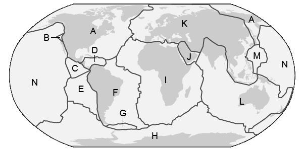 Tectonic Plates No Labels