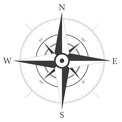 Compass Rose - With Labels