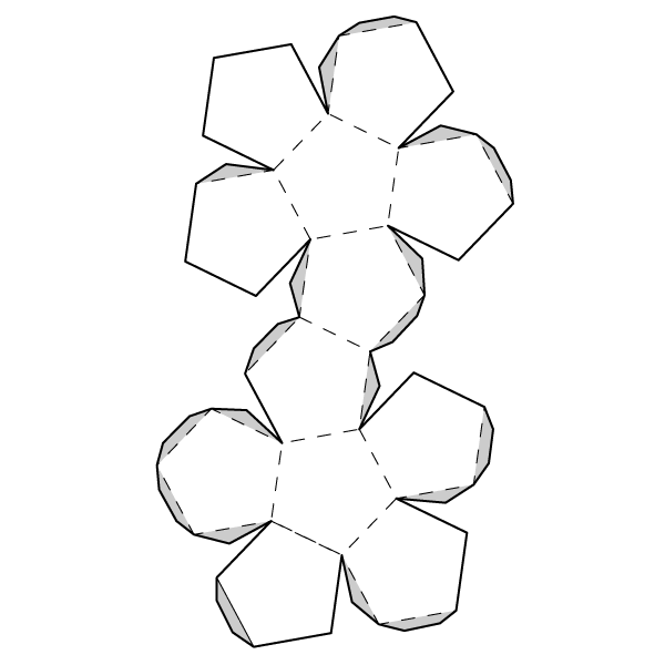 Dodecahedron Net