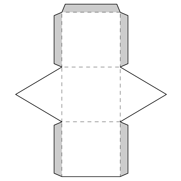 Triangular Prism Net