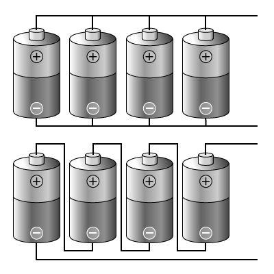 Batteries In Parallel And Series