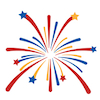 American - Fireworks - Small