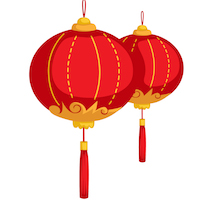 Chinese New Year - Red Lantern