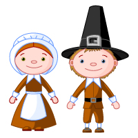 Thanksgiving - Pilgrim - Couple