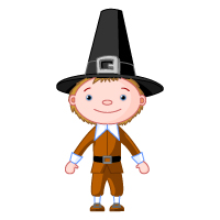 Thanksgiving - Pilgrim Man