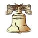 American - Liberty Bell - Small