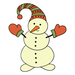 Christmas - Snowman - Small