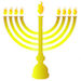 Hanukkah - Menorah - Small