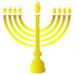 Hanukkah - Menorah - Small