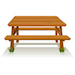 Summer - Picnic Table - Small