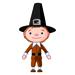 Thanksgiving - Pilgrim Man - Small