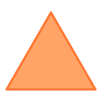 Equilateral Triangle - Color