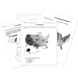 US History Worksheets