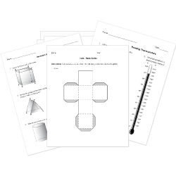 Printable Geometry Worksheets