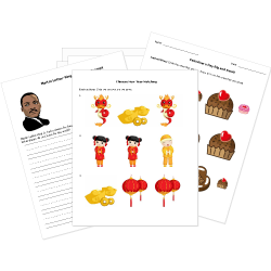 Free Christmas and Winter Holidays Worksheets