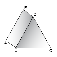 Triangular Prism with Letters