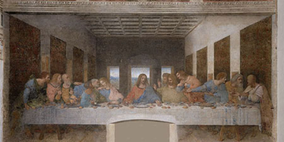 Painting - The Last Supper - Leonardo Da Vinc