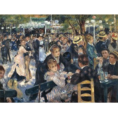 Painting - Le Moulin De La Galette - Jean Ren