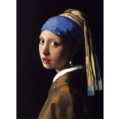 Painting - The Girl With a Pearl Earring - Ja