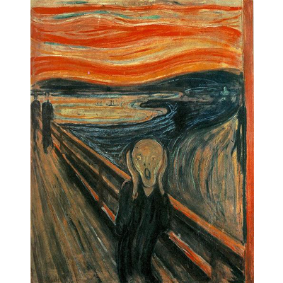 Painting - The Scream - Edvard Munch
