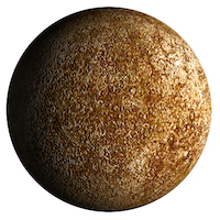 Planet Mercury - Small