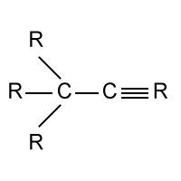 Formula - Alkyne