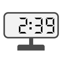 Digital Clock 02:39