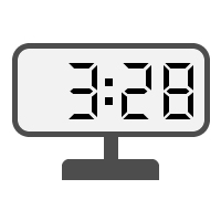 Digital Clock 03:28