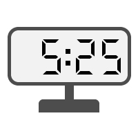 Digital Clock 05:25