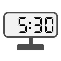 Digital Clock 05:30
