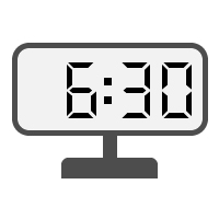 Digital Clock 06:30