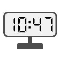 Digital Clock 10:47