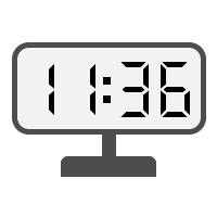 Digital Clock 11:36